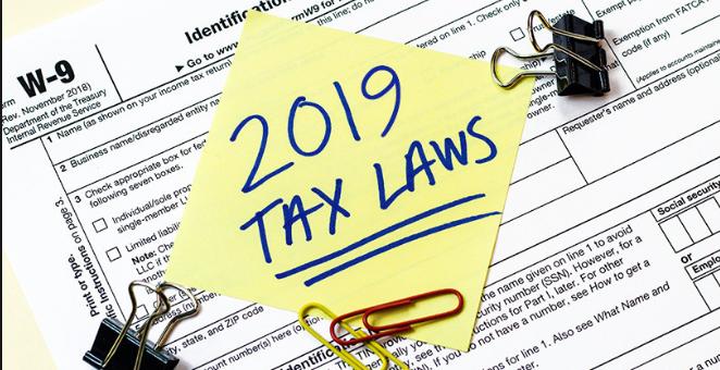 Tax Laws 2019